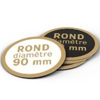 Sous-bock ROND - Diamètre 90mm